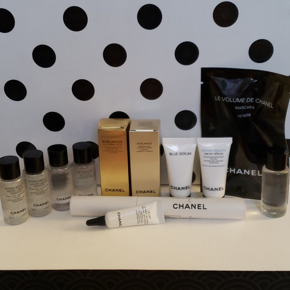 CHANEL Other - CHANEL Skincare/Mascara (12 item lot)!!!